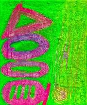 Greekology acrylic-mixedmedia on canvas 46x34in.