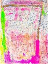Milk Shake Stratedgy acrylic-mixedmedia on canvas 46x34.