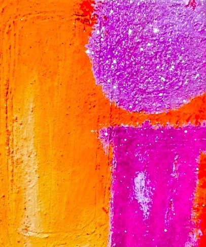 Out of the Wild acrylic-mixedmedia on canvas-24x20in.