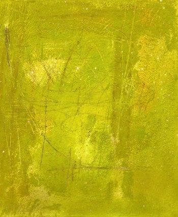 "UNTITLED 20 acrylic/sand/powdered pigment/mica/glitter/diamond dust on canvas 48"" x 40"""